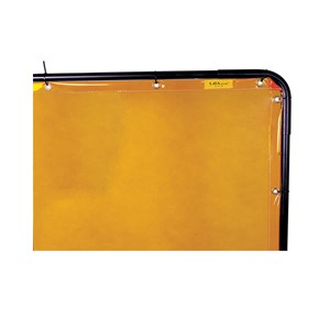 Picture of 55-5466 Alliance High-Visability Welding Screen,6'x6',High Transparency,Yellow
