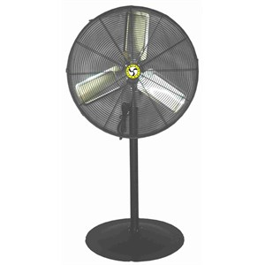 Picture of 71531 Airmaster Pedestal Fan,Horse Power/1/4 HP,3 Speed,Volts/120V,LC30AP,30""