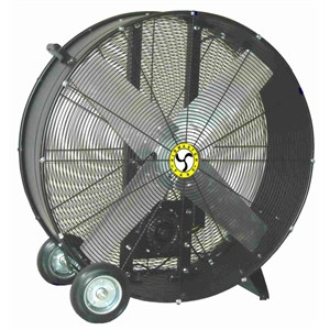 "Picture of 78933 Airmaster Barrel Fan,1 HP,1 Phase-2 Speed,42"",Belt Drive Mancooler"