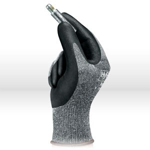 Picture of 11-800-8 Ansell Hyflex Light Duty Gloves,Gray,Multi-Purpose, Knitwrist & Palm Coated,Size 8