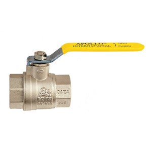 "Picture of 94A-108-01 Apollo 2"" NPT,Import,Threaded,Full Port,Brass Ball Valve"