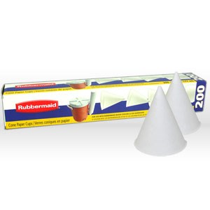 Picture of 2B41 Rubbermaid GOTT Water Cup,Cone type paper cups,6 oz