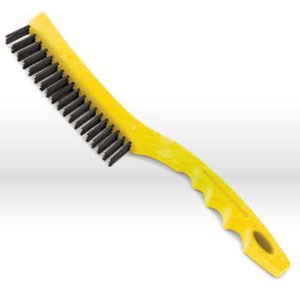 Picture of 9B4300-GY Rubbermaid Wire Brush,W/long plastic handle & hole for hanging,14""