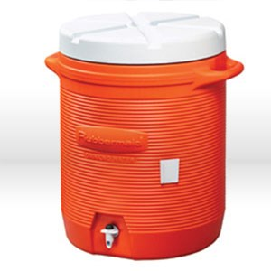 Picture of 1610IS Rubbermaid GOTT Cooler,Drink dispenser cooler,10 gallon,Orange