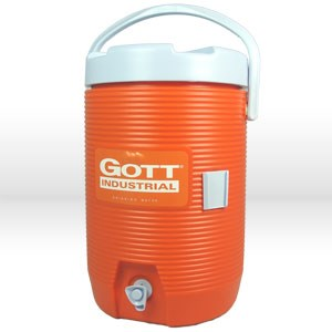 Picture of 1683IS Rubbermaid Cooler,Drink dispenser cooler,3 gallon,Orange