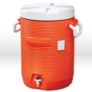 Picture of 1685IS Rubbermaid GOTT Cooler,Drink dispenser cooler,5 gallon,Orange