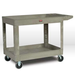 Picture of 4520-88-BG Rubbermaid Utility Cart,2 Shelf Cart