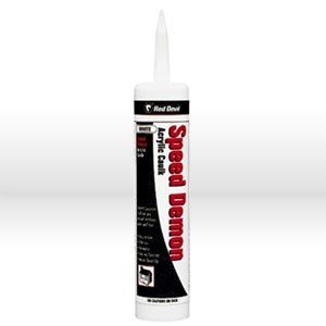 Picture of 0736 Red Devil Speed Demon Acrylic Caulk,General purpose,Vinyl acrylic,10.1 oz,White