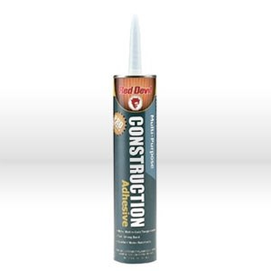 Picture of 0776 Red Devil Adhesive Caulk,Solvent free multi-purpose,Cal/Carb acrylic,10.5oz,Beige/tan