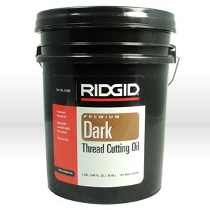 Picture of 41600 Ridgid Tool Threading Oil,Dark Threading Oil,Style,Low Odor & Anti-Mist,Size 5 Gallons