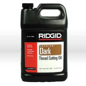 Picture of 70830 Ridgid Tool Threading Oil,Dark Threading Oil,Style,Low Odor & Anti-Mist,Size 1 Gallon