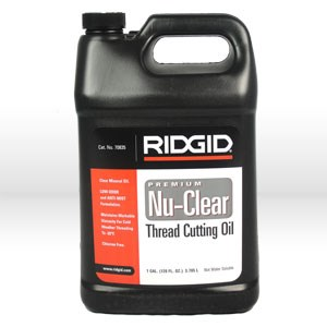 Picture of 70835 Ridgid Tool Threading Oil,Nu-Clear Threading Oil,Size 1 Gallon