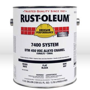 Picture of 721402 Rust-Oleum Enamel Paint,Industrial Alkyd Oil Based Enamel,1 gallon,National blue