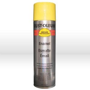 Picture of V2143838 Rust-Oleum HARDHAT Spray Paint,Acrylic Enamel Coating,20 oz,Safety Yellow