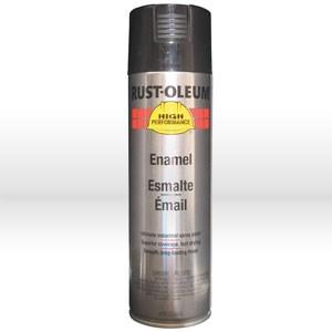 Picture of V2179838 Rust-Oleum HARDHAT Spray Paint,Acrylic Enamel Coating,20 oz,Gloss black