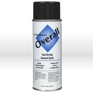 Picture of V2404830 Rust-Oleum Spray Paint,Topcoat/O/A spray paint,16 oz,Flat black