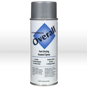 Picture of V2412830 Rust-Oleum Spray Paint,Topcoat/O/A spray paint,16 oz,Flat aluminum