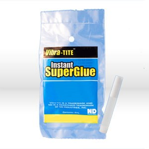 Picture of 39502 Vibra-Tite Super Glue,Cyanoacrylates/Superglues,2 ml bottle