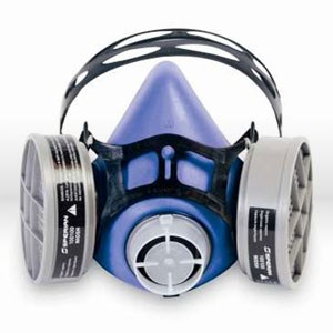 Picture of 303500 Sperian Survivair ValueAir Plus Respirator,Reusable basic face Pc assembly,L