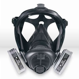 Picture of 752000 Sperian Opti-Fit APR,Survivair,Full face respirator W/a 5 strap,Light weight S-series,Sm