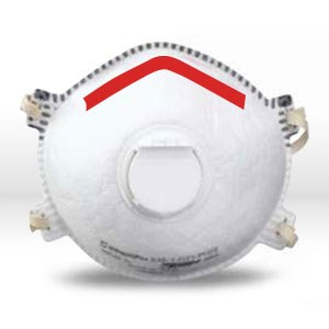 Picture of 14110393 Sperian SAF-T-FIT Plus Disposable Respirator,Filter Class/N95,Sm