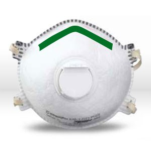 Picture of 14110394 Sperian SAF-T-FIT Plus Disposable Respirator,Filter Class/N95,medium,L