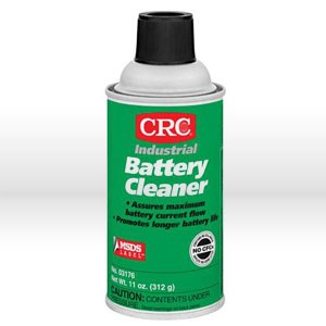 Picture of 03176 CRC Battery Cleaner, Water soluble cleaner, 11 oz aerosol