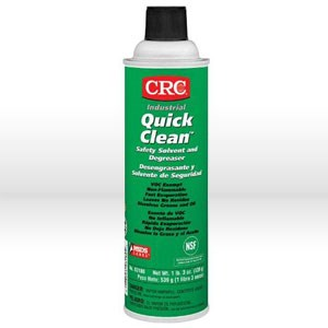 Picture of 03180 CRC Safety Solvent and Degreaser, QUICK CLEAN, 19 oz aerosol
