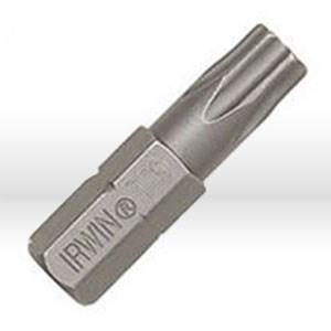 """Picture of 92320 Irwin Screwdriver Bit,T10-TR Insert Bit x 1"""""""