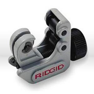 "Picture of 32985 Ridgid Tool Tube Cutter,#104, 3/4"" Close Quarters, Compact Swing Radius,Size 3/16 To 5/16"