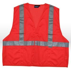 Picture of 14521 ERB Safety Vest,Reflective,ANSI Class 2,XXL,Orange