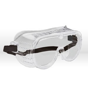 Picture of 15144 ERB Safety Goggles,High impact perforated goggle,Ventilated,Vinyl,Clear