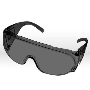Picture of 15655 ERB Safety Glasses,High impact visitor Safety glasses,Smoke lens,Vinyl