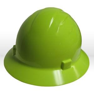 Picture of 19222 ERB Safety Americana Ratchet Safety Helmets,Hard hat,Standard full brim,Polyethylene,Yellow