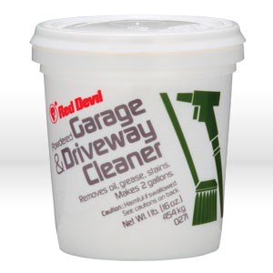 Picture of 0271 Red Devil Garage and Driveway Cleaner,1 lb tub