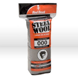 Picture of 0311 Red Devil Steel Wool,Extra Fine # 000 Steel Wool,16 Pack