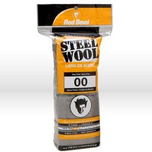 Picture of 0312 Red Devil Steel Wool,Very Fine # 00 Steel Wool,16 Pack