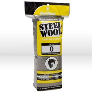 Picture of 0313 Red Devil Steel Wool,Fine # 0 Steel Wool,16 Pack