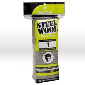Picture of 0314 Red Devil Steel Wool,Medium # 1 Steel Wool,16 Pack