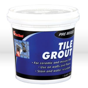 Picture of 0424 Red Devil Tile Grout,Pre-mixed TILE GROUT (1 QT)