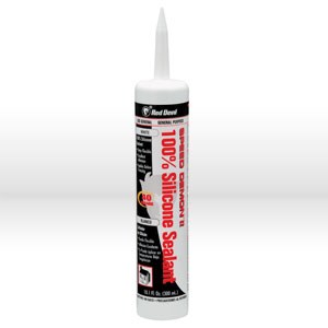 Picture of 0706 Red Devil Silicone Sealant,10.1 oz White SPEED DEMON SILICONE SEALANT