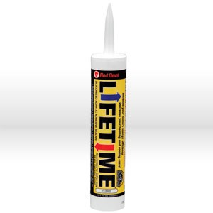 Picture of 0866 Red Devil Adhesive Caulk,10.1 oz,Ultra clear