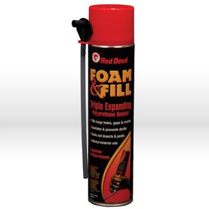 Picture of 0912 Red Devil Spray Foam Sealant,Triple Expanding Foam,20 oz