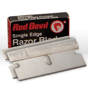 Picture of 3271/0C Red Devil Razor Blade,Single Edge,CD