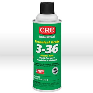 Picture of 03003 CRC Technical Grade Multi-Purpose Precision Lubricant, 3-36, 11 oz Aerosol