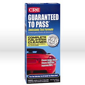 Picture of 05063 CRC Guaranteed To Pass Emissions Test Formula, 12 oz Bottle