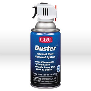 Picture of 14085 CRC Aerosol Duster, 12 oz Aerosol DUSTER with Trigger