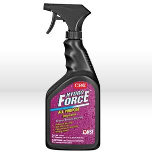 Picture of 14407 CRC Aqueous Degreaser, HYDROFORCE All Purpose, 32 oz Bottle
