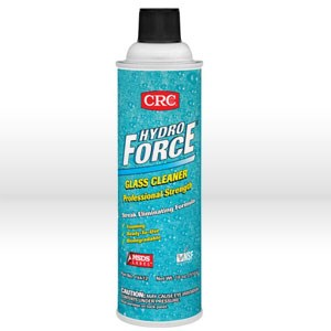 Picture of 14412 CRC Glass Cleaner, 20 oz Aerosol Hydroforce glass cleaner