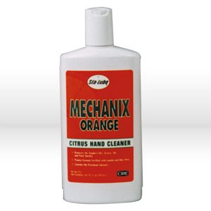Picture of SL1712 CRC Sta Lube Hand Cleaner, MECHANIX ORANGE, 16 oz bottle